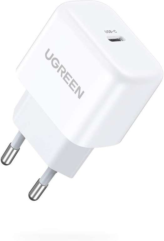 Ugreen 20W USB C Mini Ladegerät (PD 3.0) für 7,99€ inkl. Prime Versand (statt 10€)