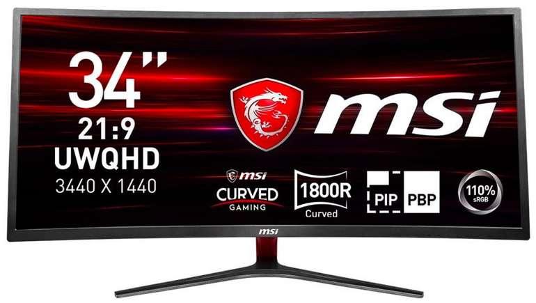 MSI Optix MAG341CQ LED