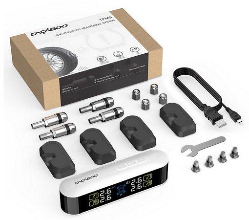 CACAGOO Car TPMS Reifendruckkontrollsystem für 36,53€ inkl. VSK