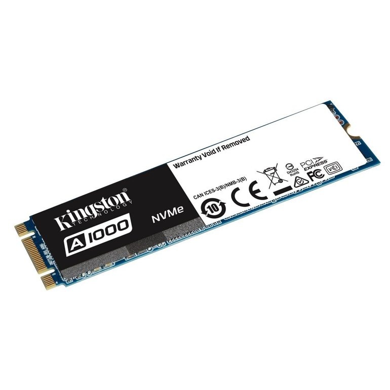 Kingston A1000 960GB M.2 PCIe NVMe SSD für 181,04€ (statt 211€)