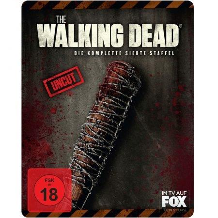 The Walking Dead - Staffel 7 (Exklusive Steelbook Edition, Blu-ray) für 22€