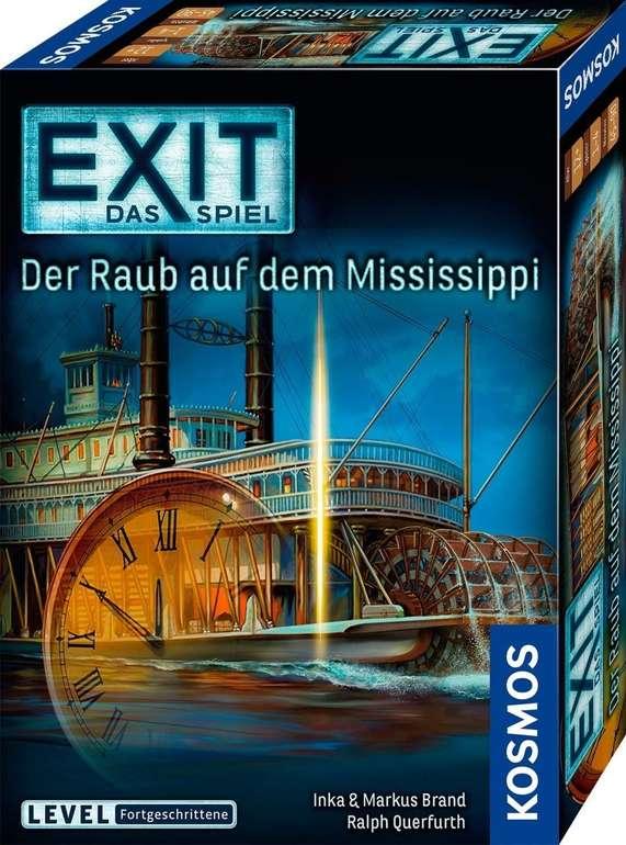 Kosmos Exit - Das Spiel: Der Raub auf dem Mississippi (69172) für 6,16€ inkl. Prime Versand (statt 10€)