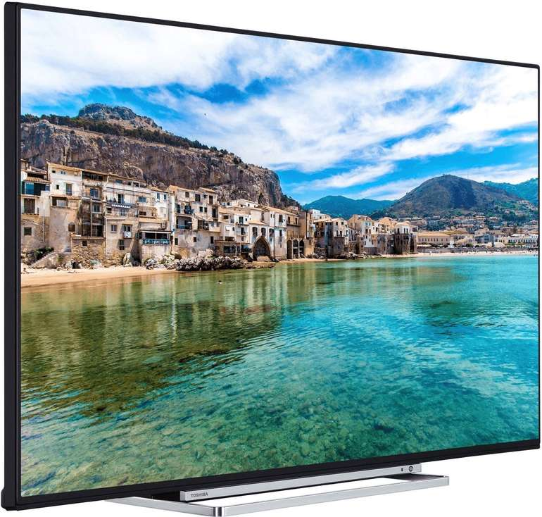 """Toshiba 55U5863DA - 55"""" Smart TV (4K UHD, LED) für 388€ inkl. VSK"""