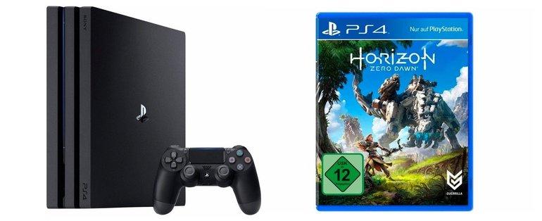 Sony Playstation 4 Pro & Horizon: Zero Dawn für 390,94€ (statt 441€)
