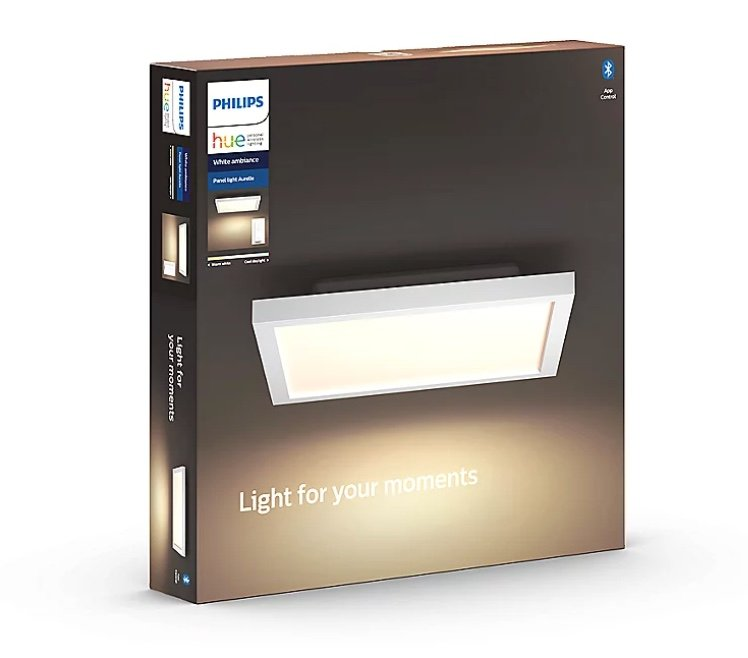2er Pack Philips Hue White Ambiance Aurelle LED Panel + 2 Dimmschalter für 175,39€ inkl. Versand (statt 212€)