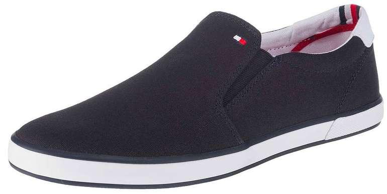 Tommy Hilfiger Slip On Schuh in weiß und blau für 35,95€ inkl. Versand (statt 43€)
