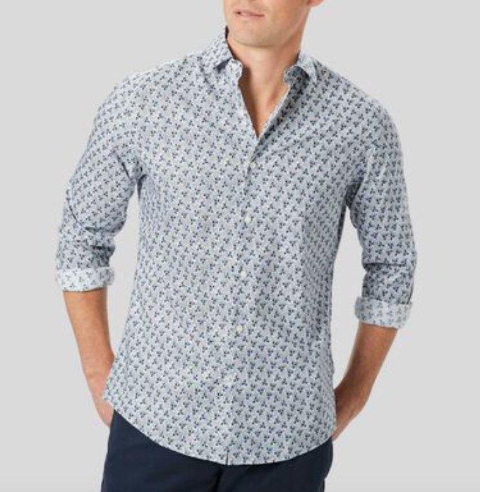Charles Tyrwhitt Sale bis zu 75% Rabatt + 15% Extra - z.B. Popeline-Hemd mit Stretch für 25,45€ (statt 50€)