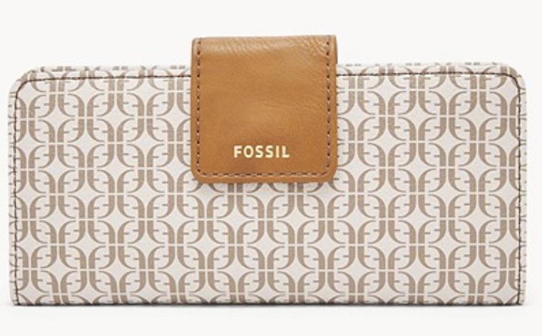 """Fossil vegane Damen Geldbörse """"Madison Slim Clutch"""" für je 16,66€ inkl. Versand (statt 28€)"""