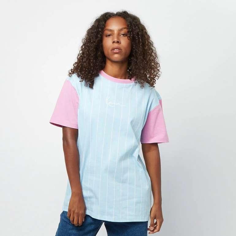 Karl Kani Small Signature Pinstripe Damen T-Shirt für 18,99€ inkl. Versand (statt 34€)