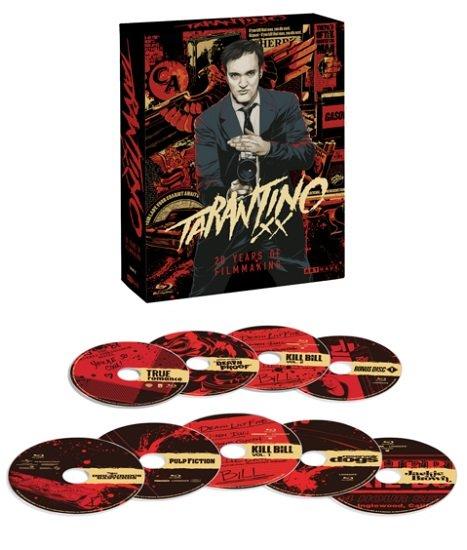Saturn Late Night Angebote - z.B. Tarantino XX - 20 Years of Filmmaking (9 Blu-rays) für 34,99€ (statt 65€)