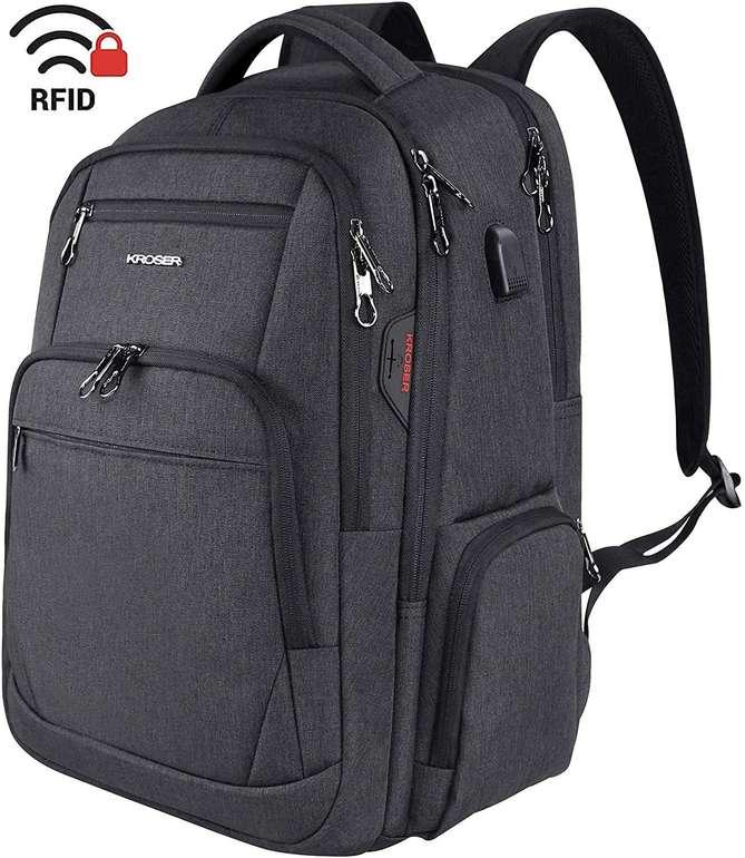 """Kroser wasserdichter Laptop Rucksack (Notebooks bis 17,3"""") für 20,79€ inkl. Prime VSK"""