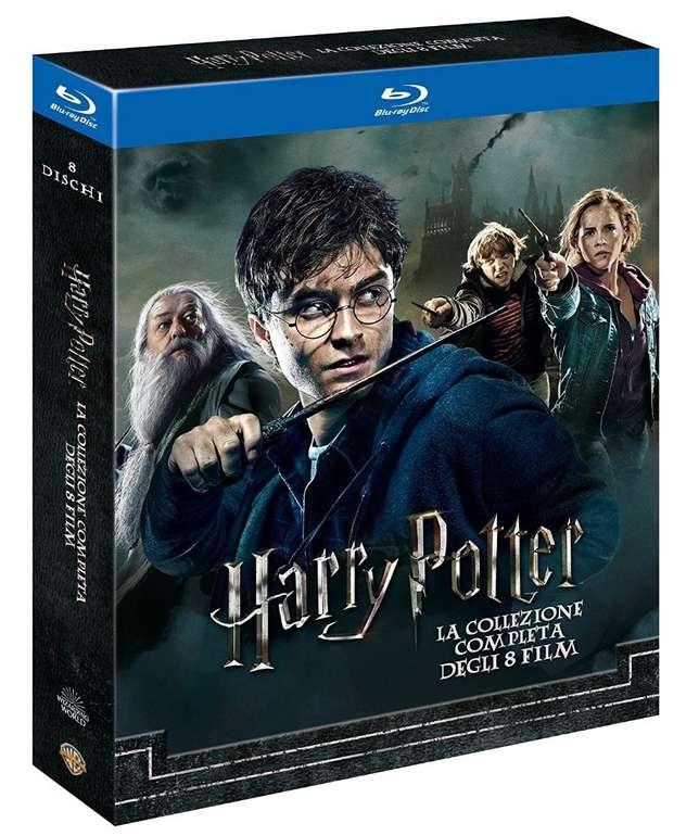 Harry Potter Complete Collection (8-Discs, Blu-ray) für 20,68€ (statt 34€)