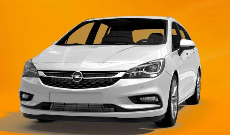 Gewerbeleasing: Opel Astra Kombi ST 1.2 Direct mit 110 PS für 51,24€ netto mtl. (LF: 0.25, Überführung: 726€)