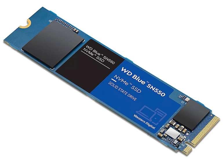 WD Blue SN550 NVMe SSD mit 2 TB PCIe M.2 2280 + 5€ Spotify Guthaben für 169,90€ (statt 199€) - Newsletter!