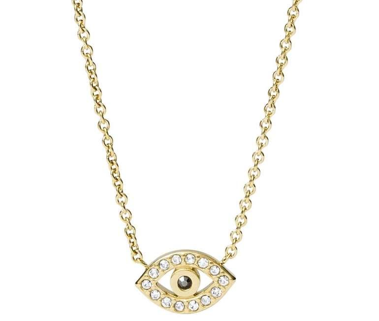 "Fossil Damen Halskette ""Evil Eye"" (JF03382710) für 21,60€ inkl. Versand (statt 45€)"