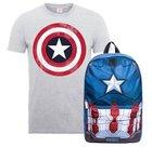 Captain America Rucksack + T-Shirt für 19,48€ (statt 36€)