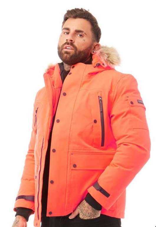 Superdry Herren Ultimate Down Jacke in Orange für 177,95€ inkl. Versand (statt 200€)