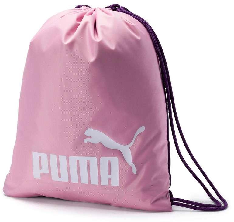 Puma Classic Turnbeutel in rosa für 5,20€ inkl. Versand (statt 11€)