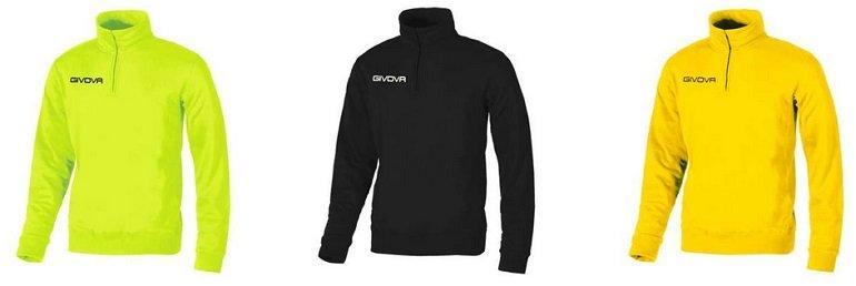 Givova Tecnica Half Zip Trainings Sweatshirts