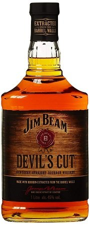 1l Jim Beam Devil's Cut 90 Proof Kentucky Straight Bourbon Whisky für 21,49€