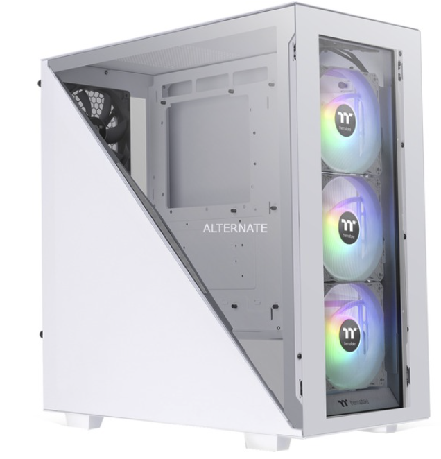 Thermaltake Divider 300 TG Snow Tower-Gehäuse in Weiß für 71,89€ inkl. Versand (statt 97€)