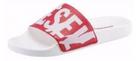 Diesel Pantoletten in weiß-rot (Größe: 36 & 40) für 29,18€ inkl. VSK (statt 39€)