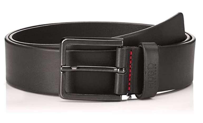 Amazon Prime Day: Hugo Gionio_Sz40 Ledergürtel mit matten Metalldetails (50385358) für 26,21€ (statt 35€)