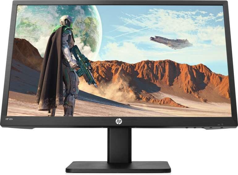 HP 22x - 21,5 Zoll Full HD Monitor mit 144Hz, AMD FreeSync & 1ms für 111€ (statt 139€)