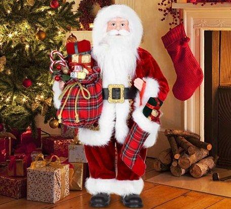 Uten - 45,7cm Santa Claus (Weihnachtsmann) Figur für 12€ inkl. VSK