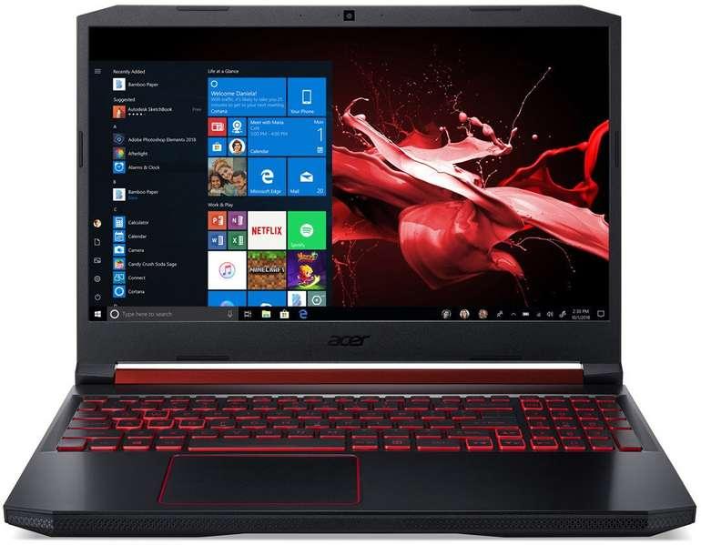 "Acer Nitro 5 15,6"" FHD Laptop (i5, 8GB, 512GB SSD, GTX 1650, Win10)"