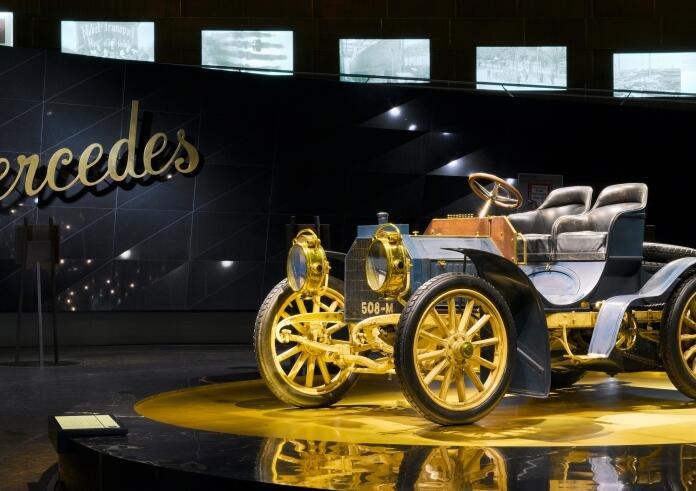 Stuttgart: Tickets Mercedes-Benz Museum + 1 ÜN im Premium Hotel + Extras ab 49€ p.P.
