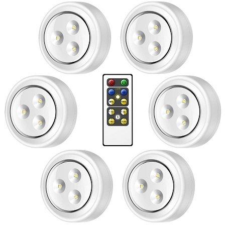 6er Pack Govee LED Schrankleuchten inkl. Fernbedienung für 10,99€ mit Prime