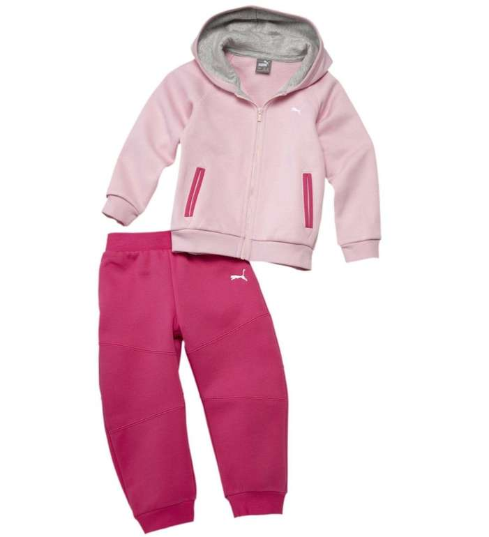 Puma Baby Jogginganzug-Set mit Kapuze in 3 Farben für je 17,11€ inkl. Versand (statt 27€)