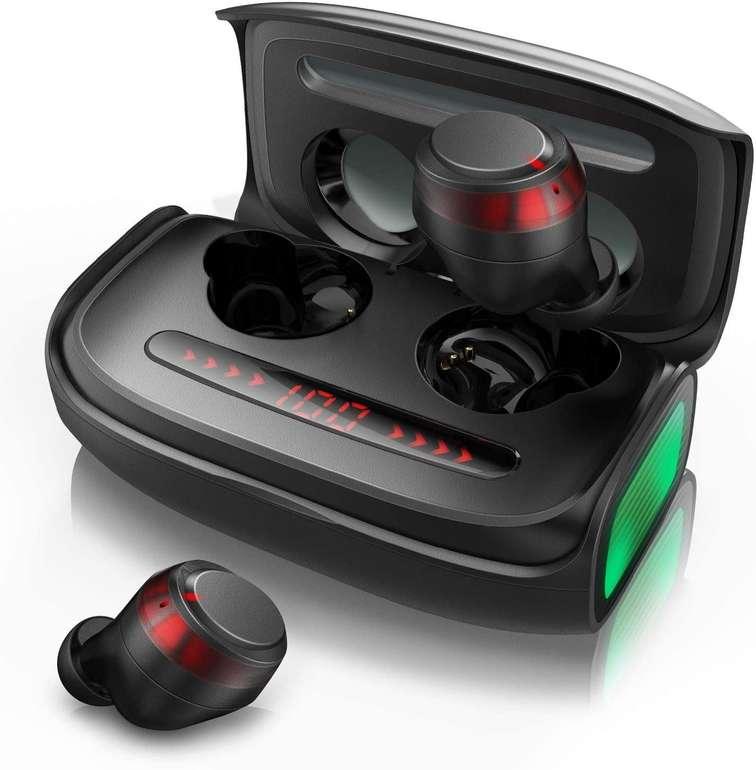 Votomy TWS Bluetooth Kopfhörer mit 2500 mAh Ladecase für 26,94€ inkl. Versand (statt 32€)