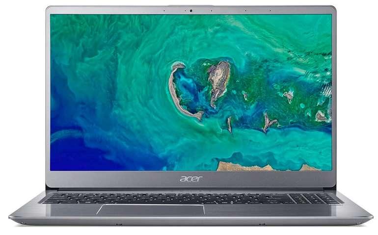 "Acer Swift 3 (SF315-52G-59WV) Ultra-Thin 15,6"" Notebook (Full HD IPS, Core i5-8250U, 8GB RAM, 256GB SSD) für 498,67€"