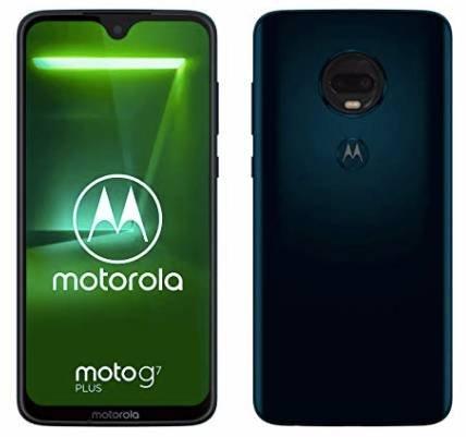 "Moto G7 Plus Dual-SIM Smartphone (6,2"", 16-MP-Dual-Kamera, 64GB, 4GB) 271,98€"