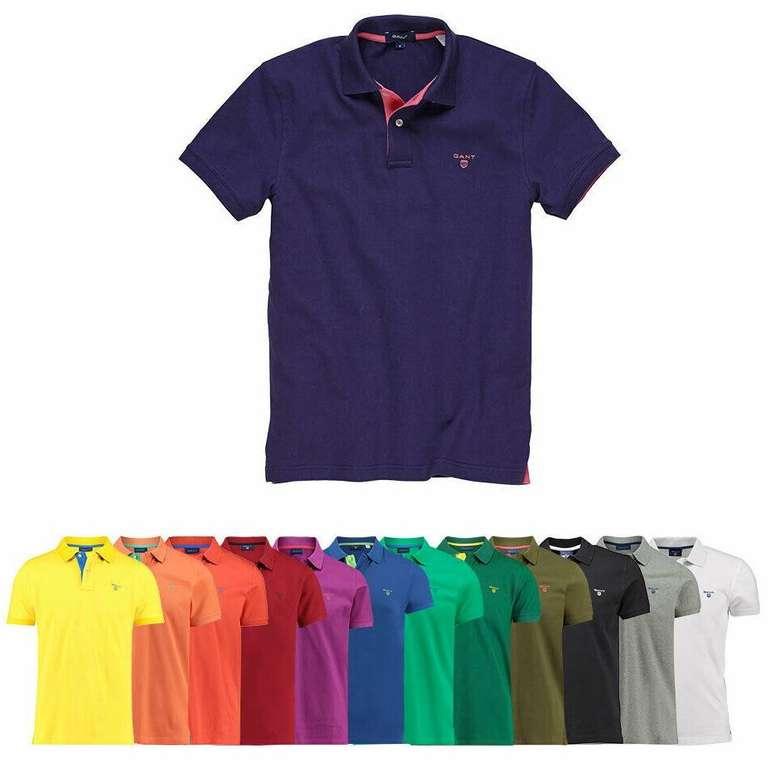 Gant Herren Poloshirts (S - 3XL) für 39,90€ inkl. Versand (statt 60€)