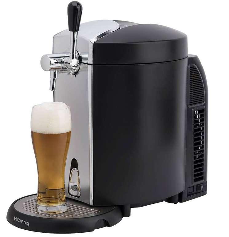 H.Koenig BW1778 Bierzapfanlage mit integriertem Kühlsystem für 72,24€