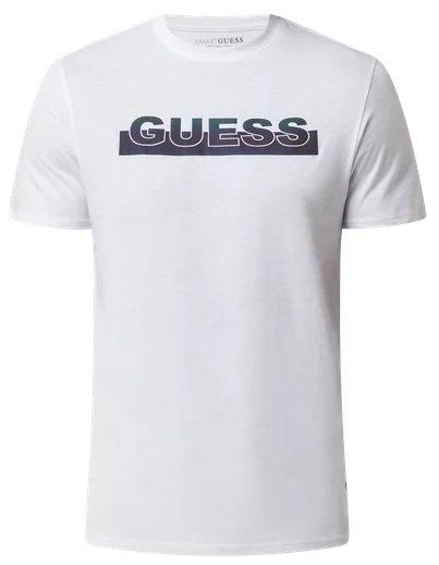 Guess Herren T-Shirt mit reflektierendem Logo in drei Farben für 29,99€ inkl. Versand (statt 40€)