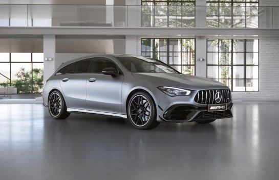 Mercedes CLA AMG 4MATIC+ Shooting Brake für 429€ Netto mtl. im Gewerbeleasing