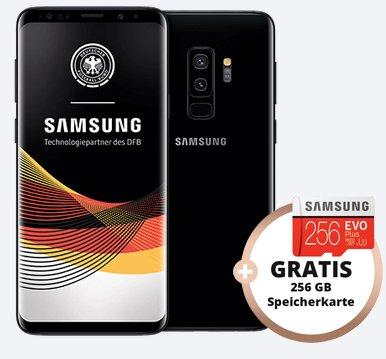 Otelo Allnet Flat mit 6GB Daten + Samsung Galaxy S9+ + 256GB SD für 29,99€ mtl.
