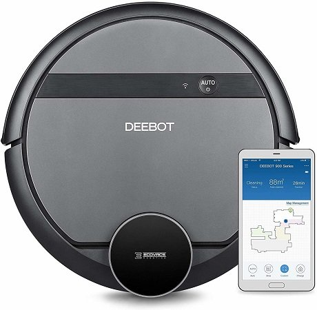 Ecovacs Deebot D901 Saugroboter mit Laser- & App-Steuerung für 249,99€ inkl. VSK