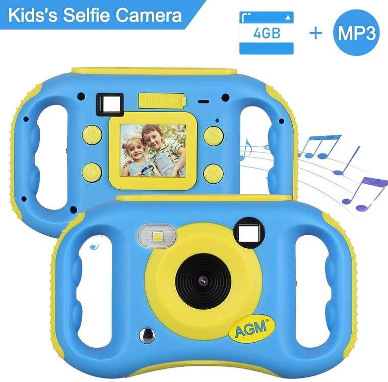AGM MP3 Kinder- Digitalkamera mit LCD-Display für 19,99€ (statt 36€)