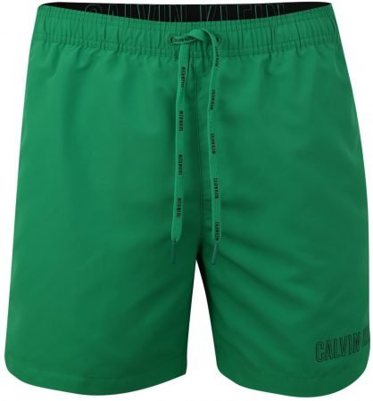 Calvin Klein Herren Badehose Medium Double Waistband in grün für 40,41€