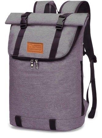 Myhozee - Wasserabweisender Laptop Rucksack mit Diebstahlschutz für 19,79€