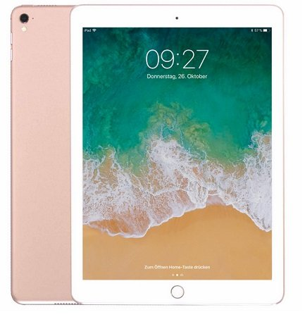"Apple 10,5"" iPad Pro 2017 512GB Wi-Fi + Cellular in Roségold für 889€ inkl. VSK"