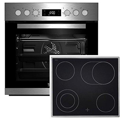 Beko BUM22320X Einbauherd-Set mit Ceran-Kochfeld für 375€ inkl. Versand