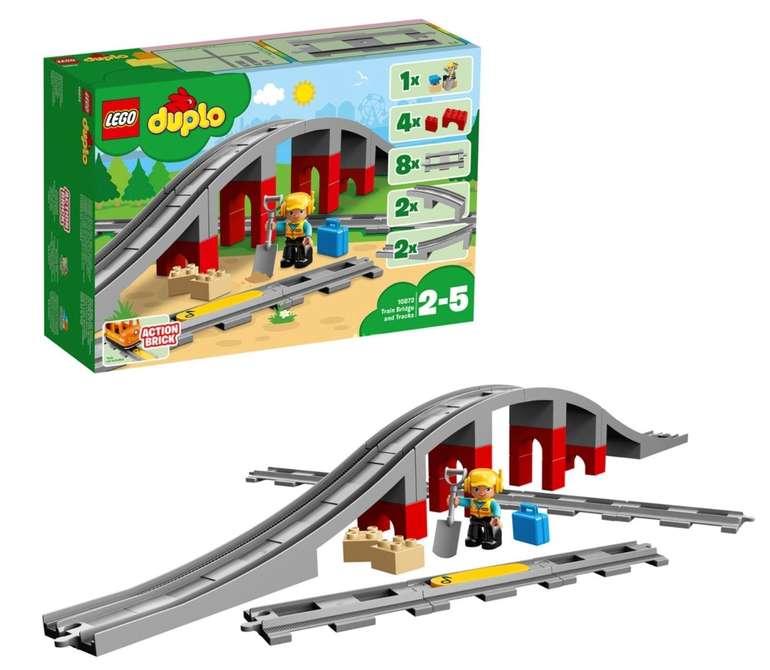 Lego Duplo Eisenbahnbrücke und Schienen (10872) für 16,99€ inkl. Versand (statt 22€)