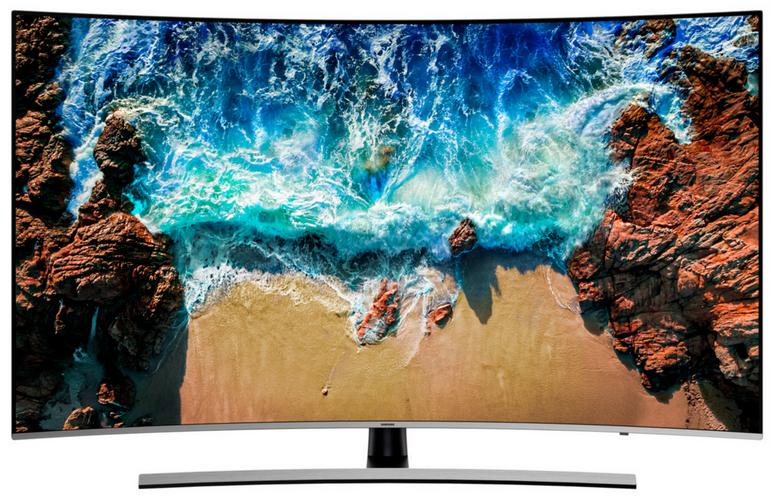 """Samsung UE55NU8509T - 55"""" Curved-LED-Fernseher (4K, Smart-TV) für je 695,94€"""