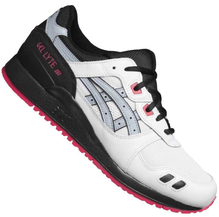Asics Tiger GEL-Lyte III Sneaker in Weiß/Pink ab 47,99€inkl. Versand (statt 75€)